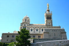 La Garde, Marseille de Notre Dame De Photos libres de droits