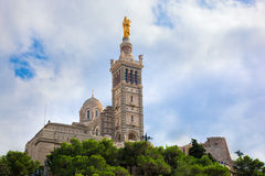 La Garde, Marseille, France de Notre Dame De. Photos stock