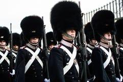 La garde royale danoise Images libres de droits
