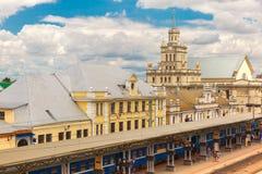 La gare ferroviaire Brest photo libre de droits
