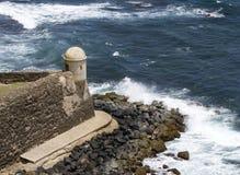 La Garita del Diablo - San Juan, Porto Rico Fotografie Stock Libere da Diritti