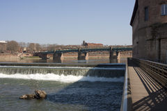 La Garonne, Toulouse Royalty-vrije Stock Fotografie