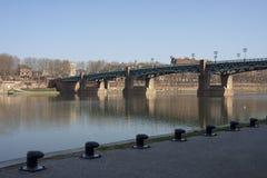 La Garonne, Toulouse Royalty-vrije Stock Afbeelding