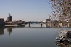 La Garonne, Toulouse Stock Foto
