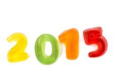 La gelatina calcola 2015 Fotografia Stock