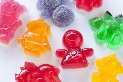 La gelatina calcola la caramella Fotografia Stock Libera da Diritti