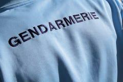 La gendarmería francesa Fotografía de archivo