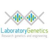 La genetica di logo Fotografia Stock Libera da Diritti
