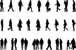 La gente Fotografie Stock Libere da Diritti