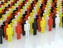 La gente Immagine Stock Libera da Diritti