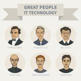 La gente Immagine Stock