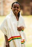 La gente in AKSUM, ETIOPIA Immagini Stock