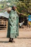 La gente in AKSUM, ETIOPIA Fotografia Stock Libera da Diritti