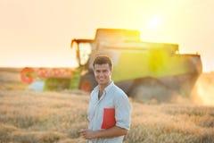La gente al raccolto Immagini Stock Libere da Diritti
