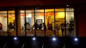 La gente alla cena archivi video