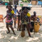 La gente in ANGOLA, LUANDA fotografia stock