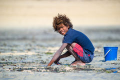 La gente a ANTANANARIVO, MADAGASCAR Fotografie Stock