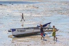 La gente a ANTANANARIVO, MADAGASCAR Fotografie Stock Libere da Diritti