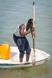 La gente a BANJUL, GAMBIA Fotografie Stock Libere da Diritti