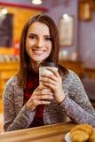 La gente in caffè immagini stock libere da diritti