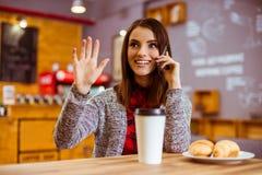 La gente in caffè fotografia stock libera da diritti