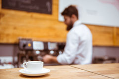 La gente in caffè fotografie stock