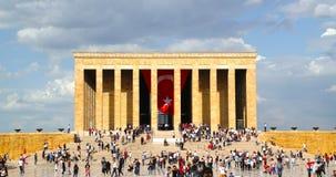 La gente celebra la commemorazione del 19 maggio di Ataturk Fotografia Stock Libera da Diritti