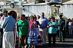 La gente che assiste alle celebrazioni 20 Fotografie Stock