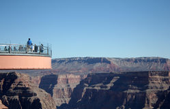 Grand Canyon Skywalk Fotografia Stock Libera da Diritti