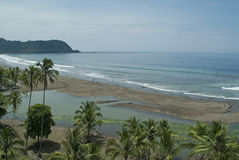 Spiaggia di Jaco fotografie stock libere da diritti