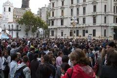 Papa della cattedrale di Buenos Aires Fotografie Stock Libere da Diritti