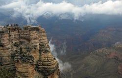 Grand Canyon sopra le nuvole Fotografia Stock Libera da Diritti