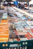 Vendita di libro usata immagini stock