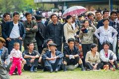 La gente in COREA DEL NORD Immagine Stock