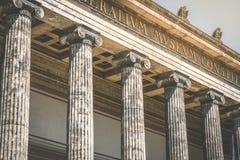 """La gente davanti al tedesco di Museum"""" dei """"Altes per il vecchio museo Fotografie Stock Libere da Diritti"""
