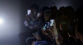 La gente degli ospiti di VIP dalle foto di vdo del pubblico spara fotografia stock libera da diritti