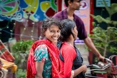 La gente del Bangladesh Fotografia Stock Libera da Diritti