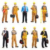 La gente del costruttore Immagine Stock Libera da Diritti