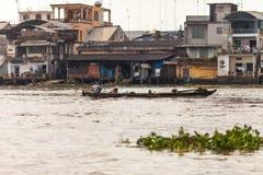 La gente del delta del Mekong, Cai Be, Vietnam Fotografia Stock Libera da Diritti