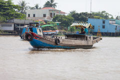 La gente del delta del Mekong, Cai Be, Vietnam Fotografie Stock