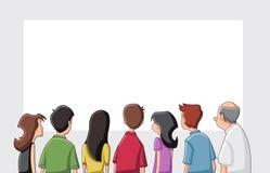 La gente del fumetto Fotografia Stock
