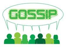 La gente del gossip Immagini Stock Libere da Diritti