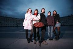 La gente del gruppo Fotografia Stock