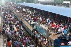 La gente del limite domestico ultimo giorno dell'Eid-UL-Adha Fotografia Stock Libera da Diritti