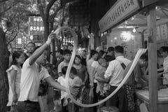 La gente del locale di XiAn Immagini Stock Libere da Diritti