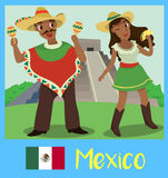 La gente del Messico Immagini Stock