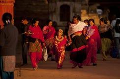 La gente del Nepal Fotografie Stock