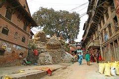 La gente del Nepal Fotografie Stock Libere da Diritti