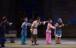 """La gente del Shan de vecindad-Shanxi Operatic""""Fu al  de Beijing†imagenes de archivo"""