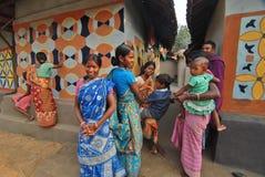 La gente del villaggio Immagine Stock Libera da Diritti
